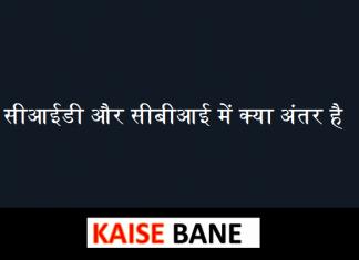 सीआईडी और सीबीआई में क्या अंतर है Differences between CBI and CID in Hindi