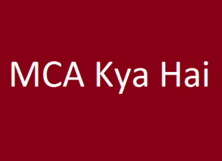 MCA Course Kya Hai- MCA Ki Jankari Hindi me - MCA kaha se kare एमसीए कोर्स करने के बाद कैरियर के क्या-क्या अवसर