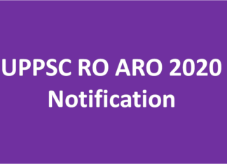 UPPSC RO ARO 2020 Notification - Samiksha Adhikari 2020 UPPSC