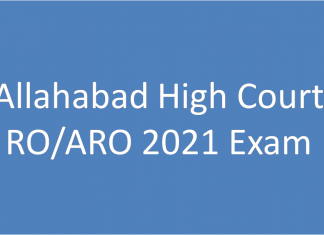 NTA Allahabad High Court RO ARO Recruitment 2021 - इलाहबाद हाईकोर्ट में आरओ व एआरओ के 396 पदों पर भर्ती- Allahabad High Court RO ARO Recruitment 2021