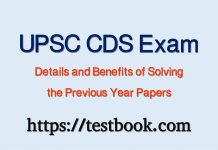 UPSC CDS Exam Details and Benefits of Solving the Previous Year Papers https://www.testbook.com